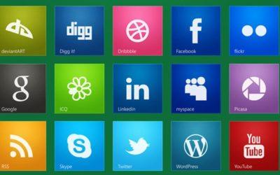 Abrir los Iconos y Redes Sociales en Pestaña Nueva