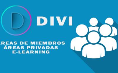 Cómo Crear un Área de Miembros o sitio E-learning con Divi