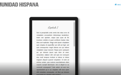 Contenido y Texto Deslizante Dentro de Una Tablet, Ordenador, etc.